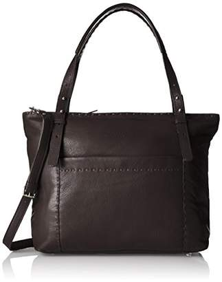 Liebeskind Berlin Newark Heasti, Women's Shoulder Bag, Braun (Eagle Brown), 13 x 32 37 cm (wxhxd)