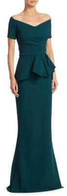 Chiara Boni La Petite Robe Ruffled Mermaid Gown