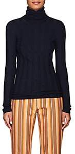 Derek Lam Women's Cashmere-Blend Turtleneck Sweater - Navy