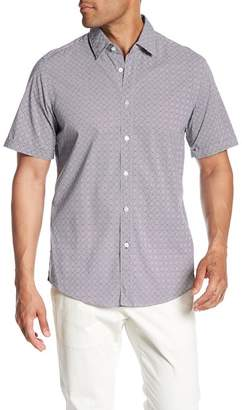 BOSS Patterned Short Sleeve Regular Fit Shirt