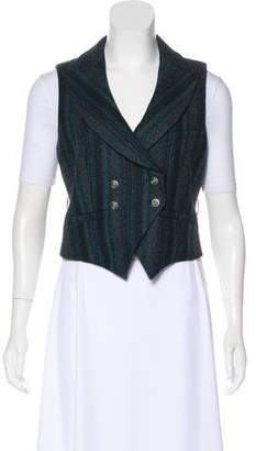 Chanel Wool Double-Breasted Vest