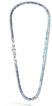 John Hardy Asli Classic Chain Slim Link & Mixed Stone Necklace, 30""