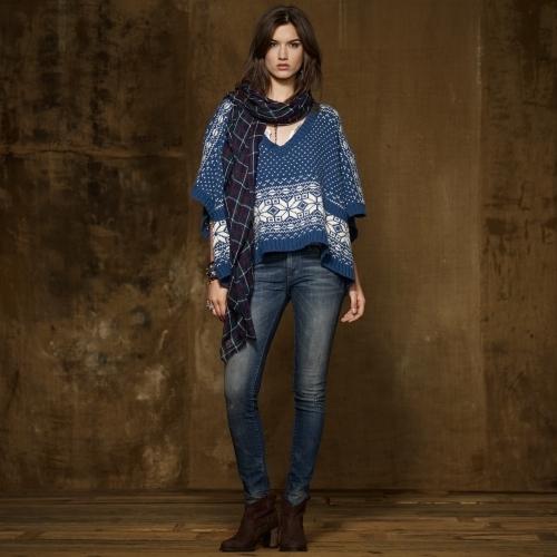 Denim & Supply Ralph Lauren Knit Wool Poncho