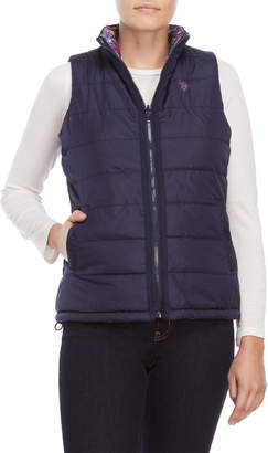 U.S. Polo Assn. Reversible Quilted Vest