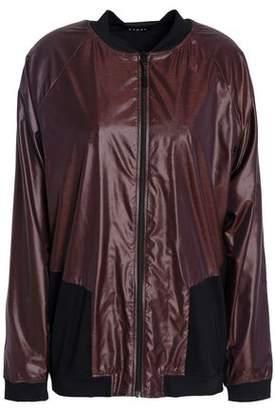 Koral Mesh-Paneled Cutout Shell Jacket