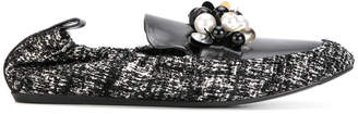 Lanvin loafers with embellished detail