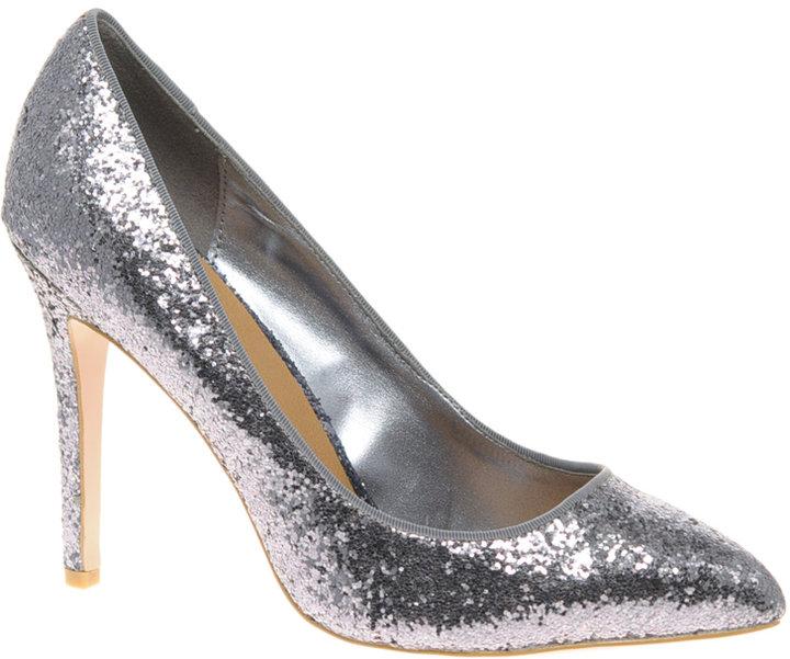 Miss KG Dancer Glitter Pointed Court Shoe