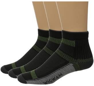 Wigwam Ultra Cool Lite Quarter 3-Pack Quarter Length Socks Shoes