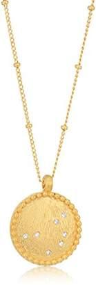 Satya Jewelry Celestial Goddess White Topaz Pleiades Pendant Necklace