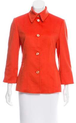Agnona Structured Fitted Jacket