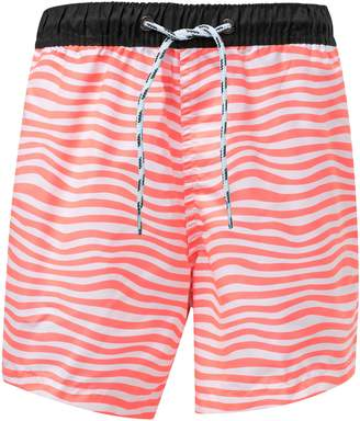 Snapper Rock Orange Crush Board Shorts