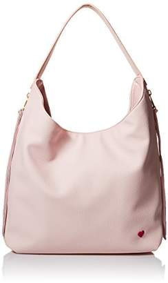 "Dear Drew by Drew Barrymore"" Everyday Boho Pebbled Vegan Leather Shoulder Bag"