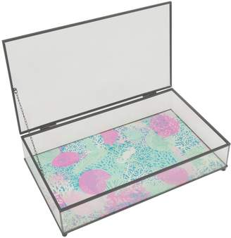 Three Hands Rectangular Sea Shells Box
