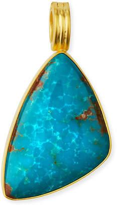Dina Mackney Freeform Turquoise Pendant