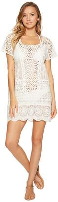 Polo Ralph Lauren Crocheted Lace Tunic Cover-Up Women's Swimwear