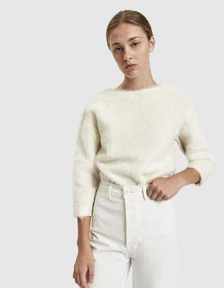 Lemaire Hairy Long Sleeve Sweater