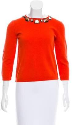 Zhor & Nema Embellished Wool Sweater w/ Tags