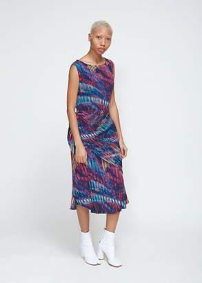 Issey Miyake Stream Print Dress
