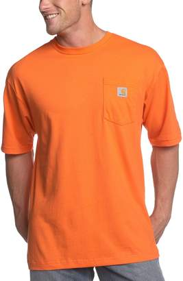 Carhartt Men's Big & Tall Workwear Pocket Short Sleeve T-Shirt Original Fit K87