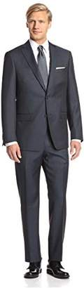 Franklin Tailored Men's Sharkskin Tracy Suit