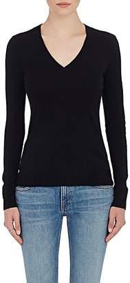 Barneys New York Women's Cashmere V-Neck Sweater - Black