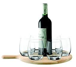 LSA International Seven-Piece Water and Wine Serving Set