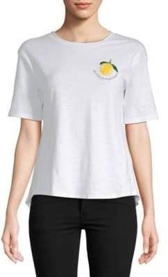 Lucca Couture Allie Lemon Cotton Tee