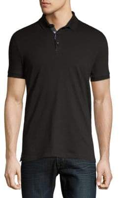 Jared Lang Knit Polo Shirt