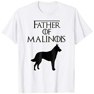 Unique Black Father Of Belgian Malinois Dog Lover E010571