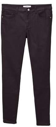 MANGO Skinny dark jeans