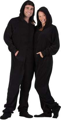 e9769bd21b at Amazon Canada · Footed Pajamas Family Matching Jet Adult Hoodie Chenille  Onesie - Medium