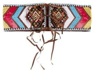 Matthew Williamson Embellished Waist Belt