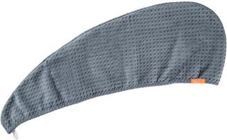Aquis Hair Turban Waffle Luxe Moody Gray