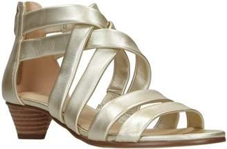 b544b25ea180 Next Womens Clarks Metallic Mena Silk Sandal