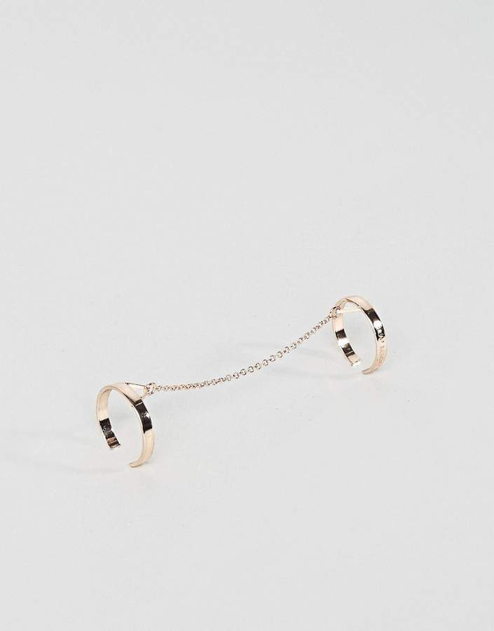 Cheap Monday Triangle Double Ring