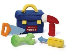 Gund Plush My First Toolbox Playset