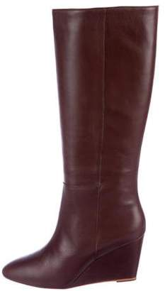 Loeffler Randall Knee-High Wedge Boots