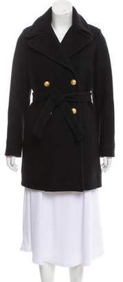 Band Of Outsiders Wool Double-Breasted Coat w/ Tags