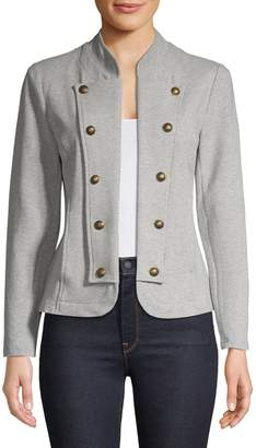 Tommy Hilfiger Heathered Open-Front Jacket