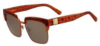 MCM Visetos 56mm Retro Sunglasses $310 thestylecure.com