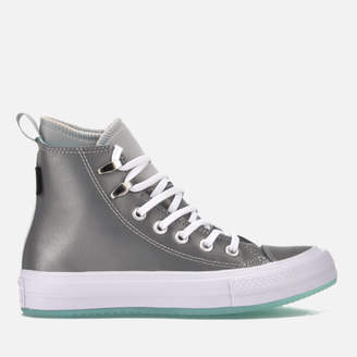 Converse Chuck Taylor All Star Waterproof Boots - Pure Platinum/Light Aqua/White