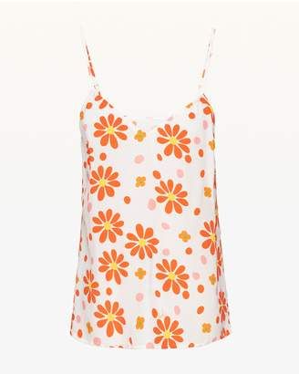 Juicy Couture Dotted Daisy Silk Cami