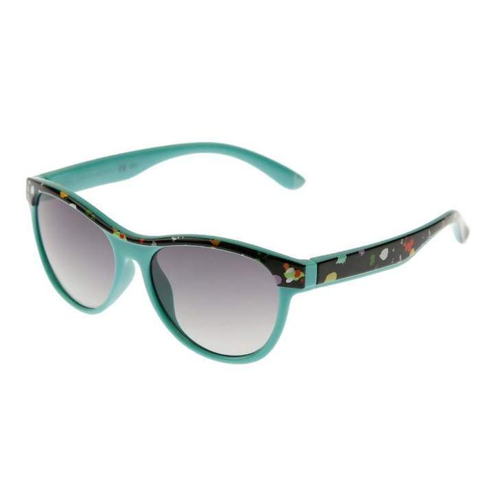 KidsGreen & Black Paint Splash Sunglasses