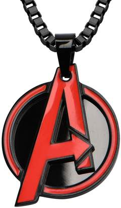 Marvel Comics Marvel Stainless Steel Red Avengers Pendant w/Chain