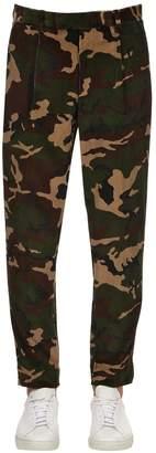 Moncler Camo Velour Pants
