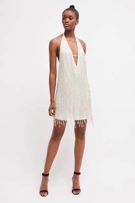 fc9e374a852a French Connenction Celosia Shine Sequin Mini Dress