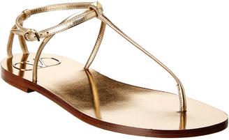 Valentino Vlogo Stud Detail Leather Sandal