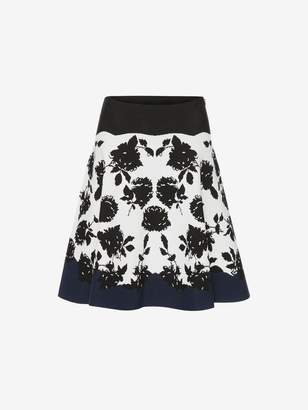 Alexander McQueen Knitted Mini Skirt