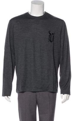 Gianni Versace Wool Long Sleeve T-Shirt