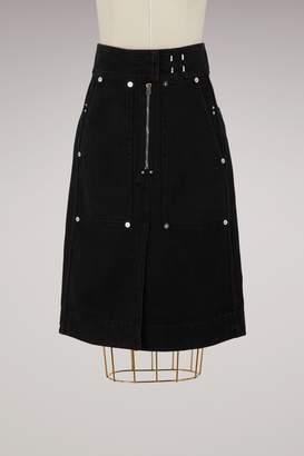 Isabel Marant Nancy cotton skirt